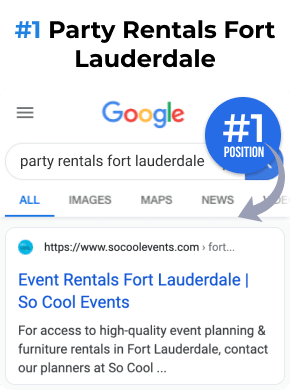 Party Rentals Fort Lauderdale