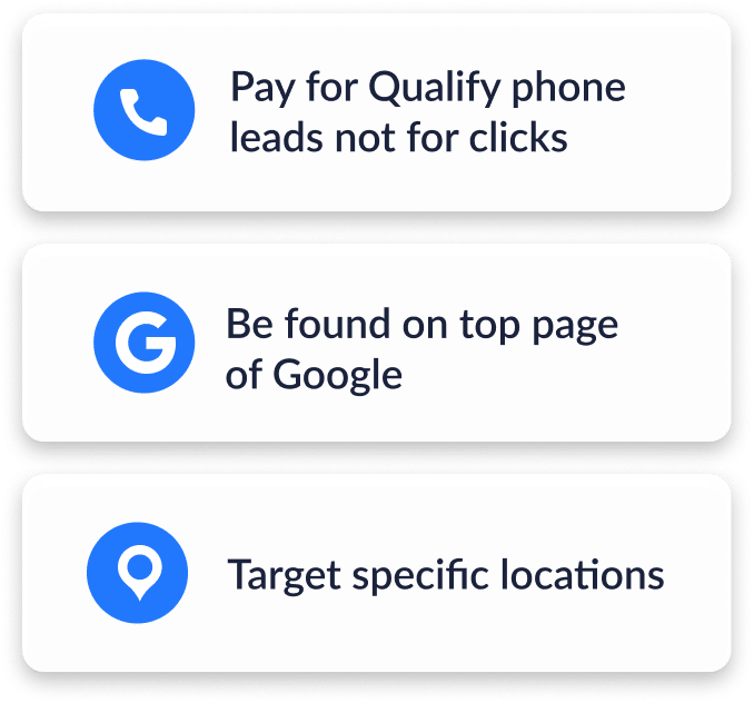 Google Screened List