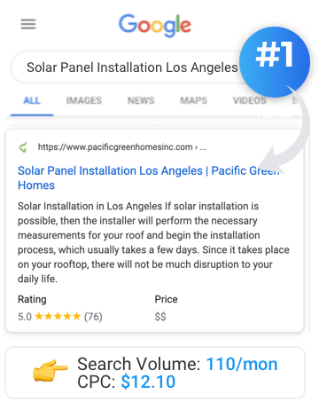Solar Panel Installation Los Angeles