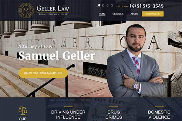 Geller Law Criminal Defense Attorney