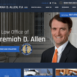 The Law Office of Jeremiah D. Allen Website