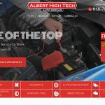 Albert High Tech Website