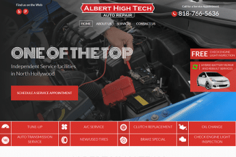 Albert High Tech Web Design