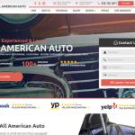 All American Auto Website