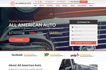All American Auto Web Design