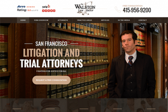 Walston Law Group  Web Design