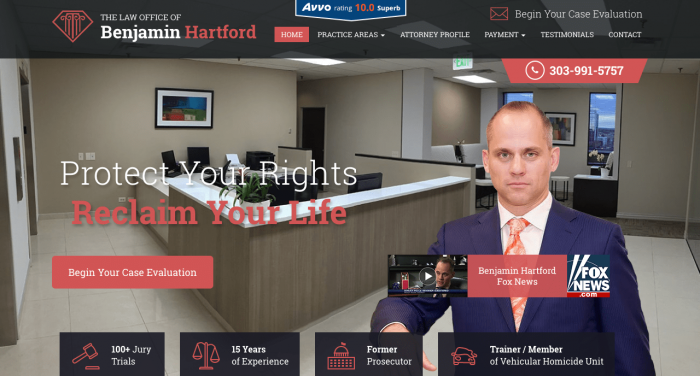 Benjamin Hartford Website