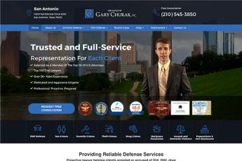 Law Offices of Gary Churak Web Design