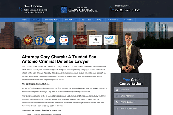 Law Offices of Gary Churak