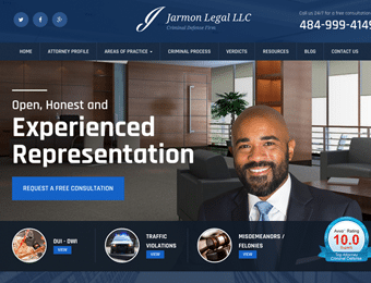 Jarmon Legal  Website