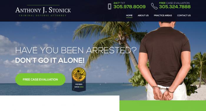 Anthony J. Stonick Web Design