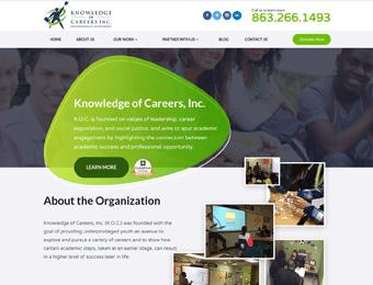 Knowledge of Careers Website