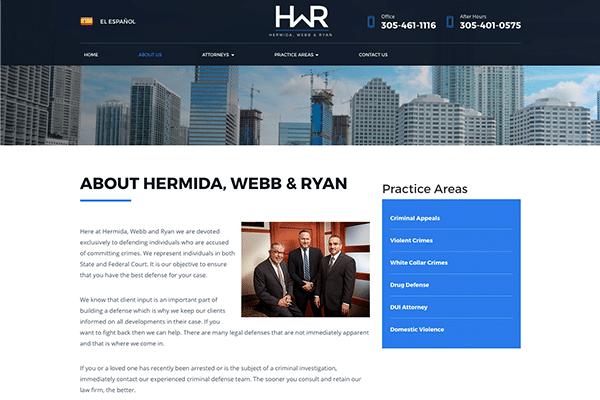 Hermida, Webb and Ryan