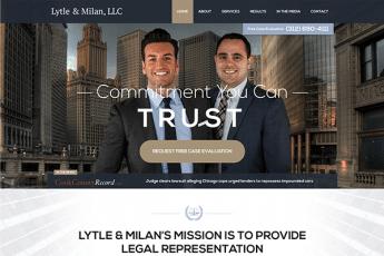 Lytle & Milan, LCC Web Design