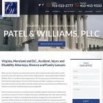 Patel & Williams, PLLC Website