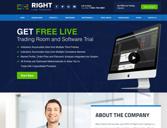 Right Line Trading Website