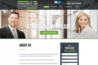 Steinkemper Law Web Design