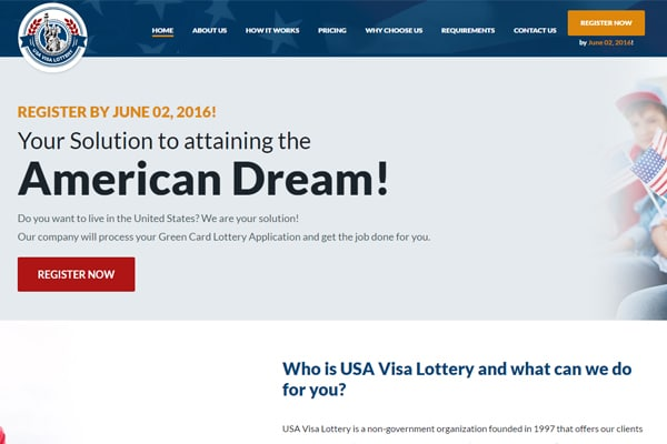 USA Visa Lottery