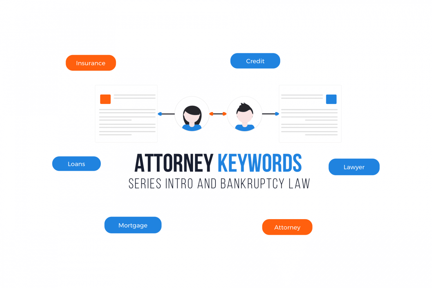 Attorney Keywords At-A-Glance by Area of Practice – Series Intro and Bankruptcy Law