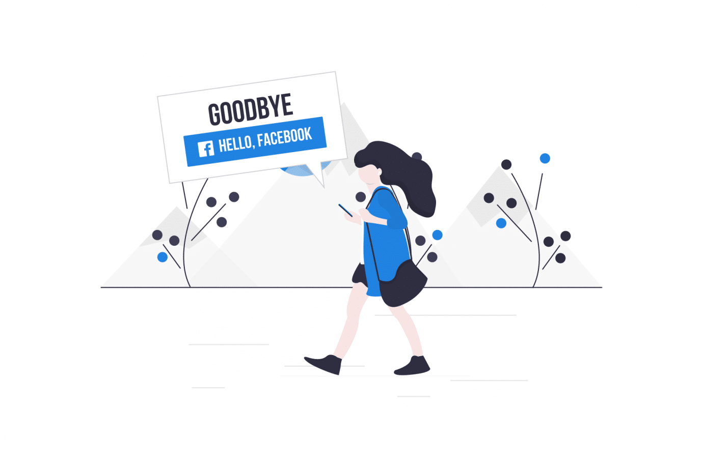 Users Want to Say Goodbye to Facebooks New Hello Button