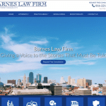 Barnes Law Firm  Website