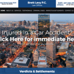 Law Offices of Brett Levy PC Website
