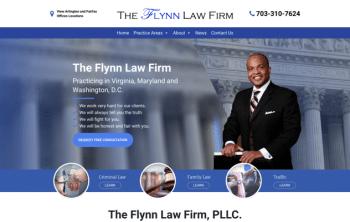 The Flynn Law Firm Web Design