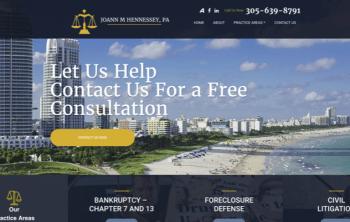 Joann M Hennessy Web Design