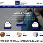 Lapine & Forsse Criminal Defense & Family Law Website