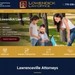 Lowendick Law Office  Website
