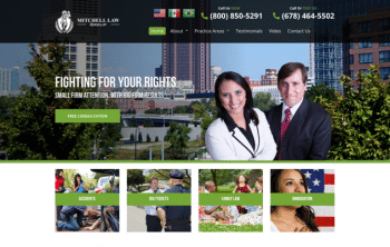 Mitchell Law Group Web Design