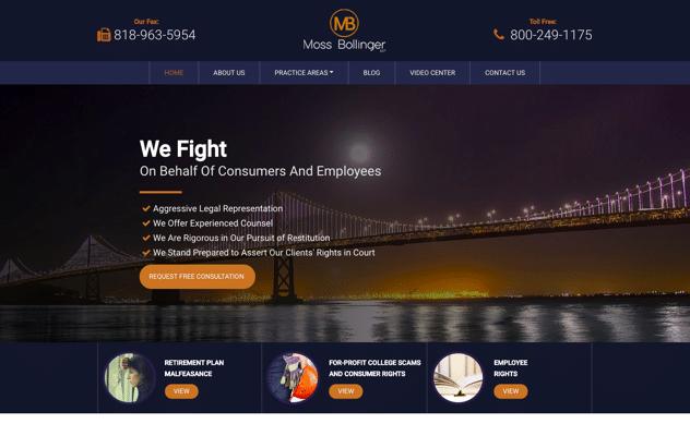 Moss Bollinger Web Design