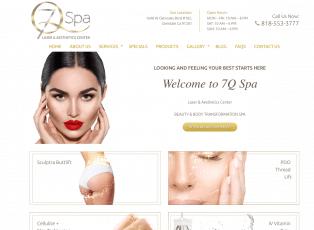 7Q SPA Web Design