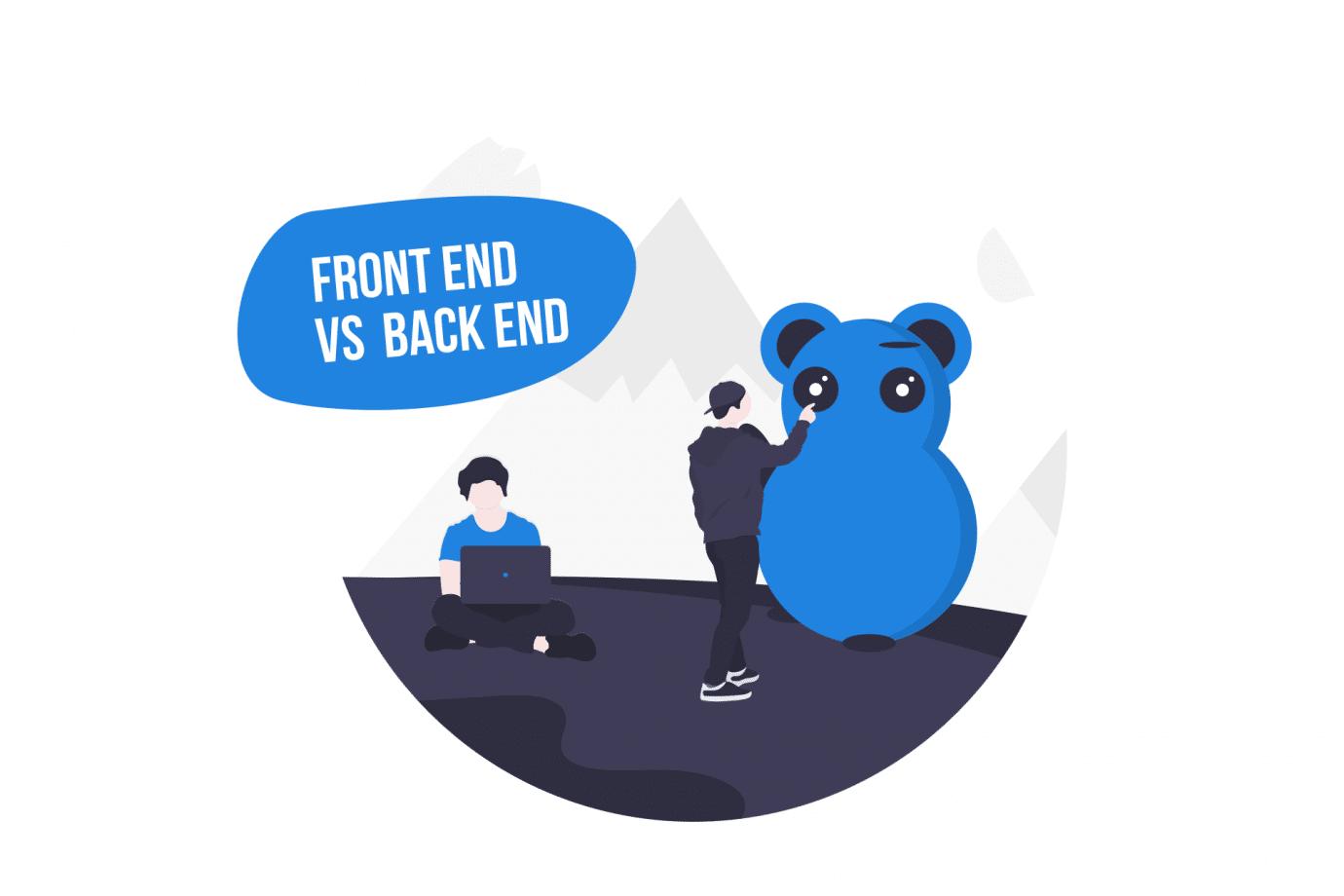 Front End vs Back End Website Development