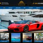 305 Yacht Rental Website