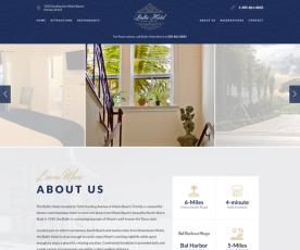 Baltic Hotel Miami Beach Web Design
