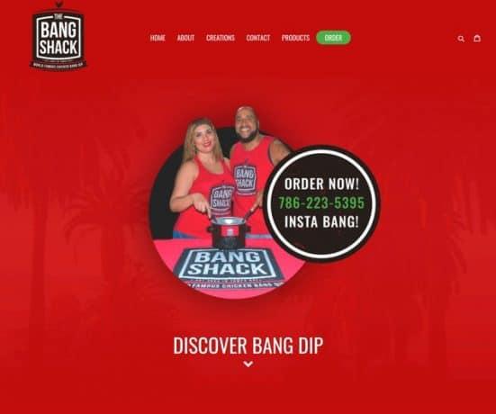 The Bang Shack Web Design
