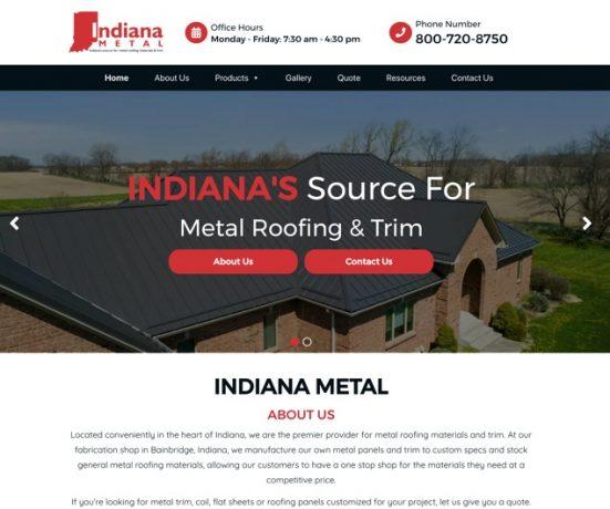 Indiana Metal Website