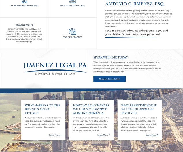 Jimenez Legal PA: Divorce Lawyer Miami