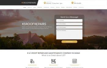 KSRoofRepairs Web Design