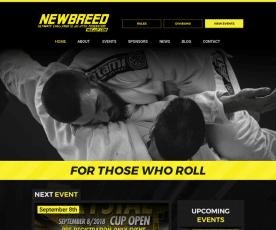 NEWBREED Ultimate Challenge Web Design