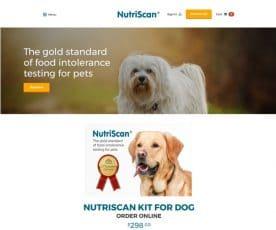 Nutriscan Web Design