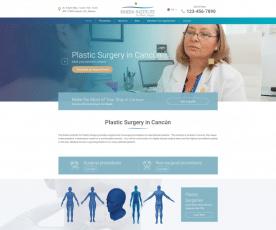Rivera Institute of Plastic Surgery Web Design