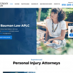 Bauman Law Website