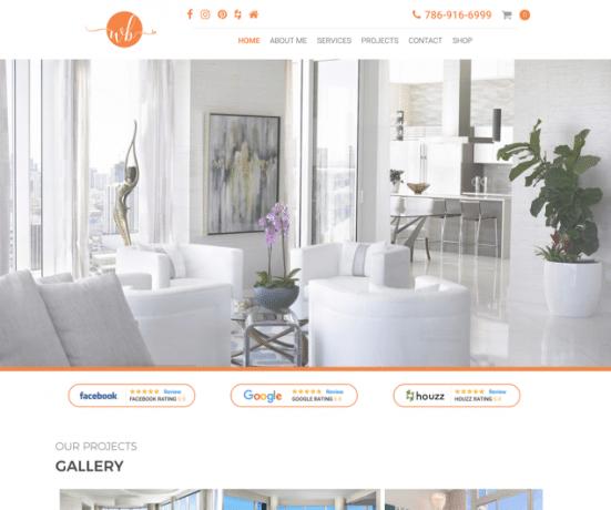 Whitney Bloom Design - Luxury Interior Home Designer Website
