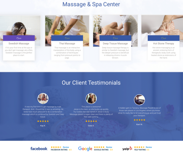 My Massage Planet