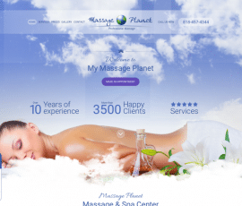 My Massage Planet Web Design