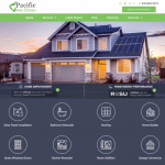 Pacific Green Homes Website