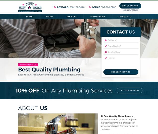 Best Quality Plumbing