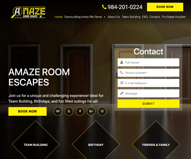 Raleigh Escape Room